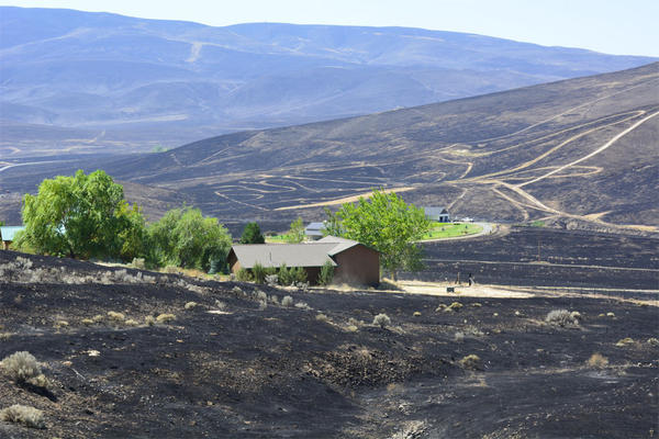 The Range 12 Fire has burned more than 175,000 acres between Yakima, Washington, and the Tri-Cities.