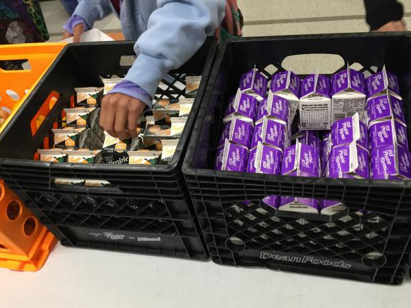 All students at Battle Elementary School in Columbia, Missouri, have access to a free breakfast every school day.