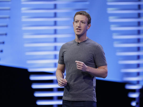 Facebook CEO Mark Zuckerberg is defending the company against criticism that it doesn't vet fake news in its news feed.