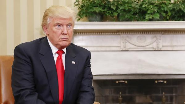 President-elect Trump met in the Oval Office with President Obama last month. Trump would get daily intelligence briefings there, but he has expressed skepticism about their worth.