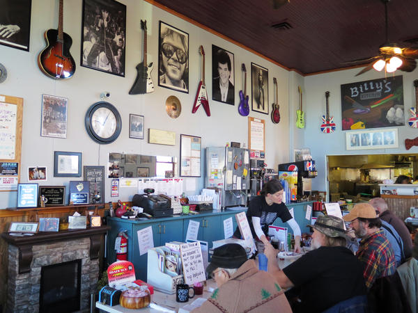 The Garden of Eatin' diner is in Galesville, Wis., where many Democratic voters decided to vote for Donald Trump during the 2016 election.