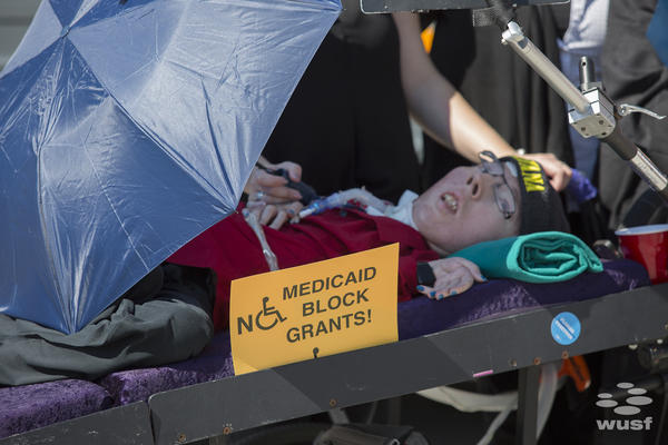 Michael Phillips is a 36-year-old Tampa resident who says Medicaid allows him to get the care he needs at home.