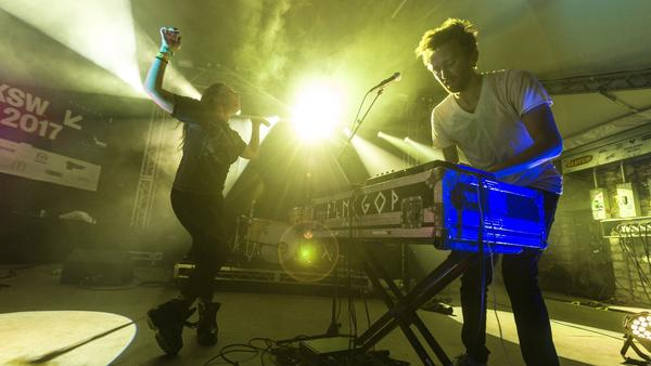 Sylvan Esso perform at Stubb's in Austin, Texas for NPR's 2017 SXSW showcase.