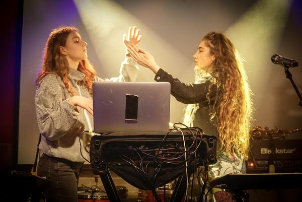 Let's Eat Grandma at Latitude 30.