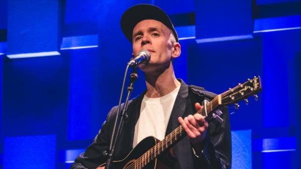 Jens Lekman performs live at a WXPN Free At Noon concert.