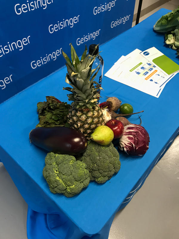 Patients enrolled in the Fresh Food Pharmacy program receive about a week's worth of free, fresh produce and other healthy items.
