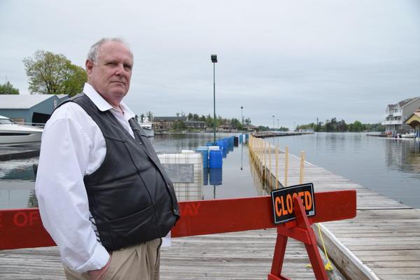 Alexandria Bay Deputy Mayor Mark Reynolds