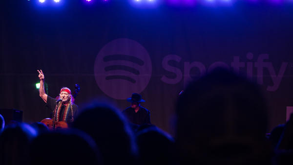 Willie Nelson performs at The Spotify House during SXSW on March 13, 2016.