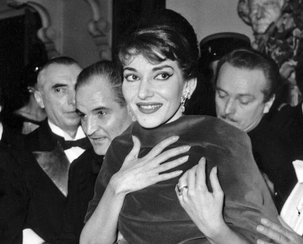 Soprano Maria Callas at the Paris Opera in 1958. She is the subject of a new book, <em>Maria by Callas</em>.