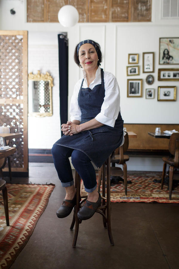 Shamim Popal, co-owner and culinary director of Lapis, didn't start cooking until she moved to the U.S. in 1987. Popal says she wanted to host a dinner for refugees to share a sense of hope.