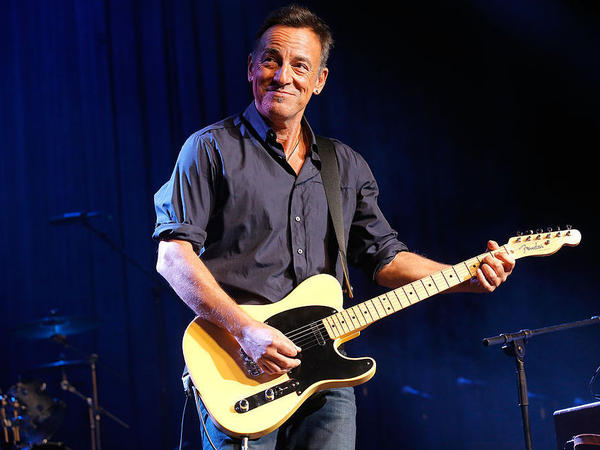 Bruce Springsteen, performing at New York City's Madison Square Garden in November 2013.