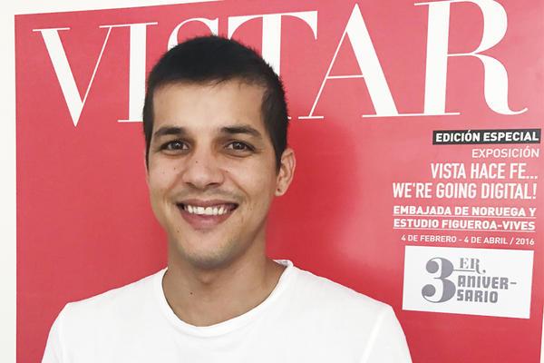 Robin Pedraja runs the <em>Vistar</em> music magazine in Havana.