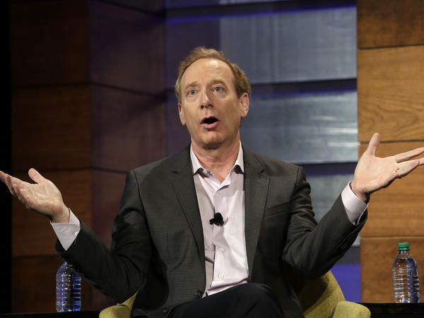 """We should be around the world. But we should also be focused on our own backyards,"" Microsoft President Brad Smith says."