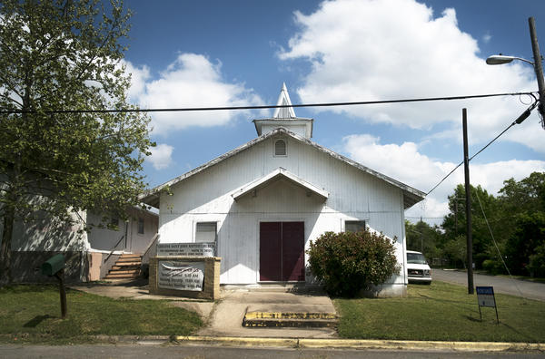 Greater Saint John Baptist Church, which has been in the East Austin neighborhood since 1945, is for sale.
