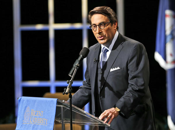 Jay Sekulow, seen in 2015, is one of President Trump's attorneys and also leads two Christian conservative charities that have raised questions with watchdog groups.