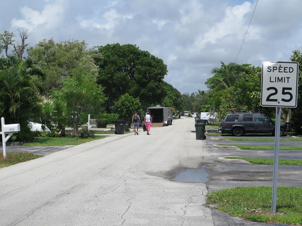 A recent study in Delray Beach identified at least six sober homes on this street alone.