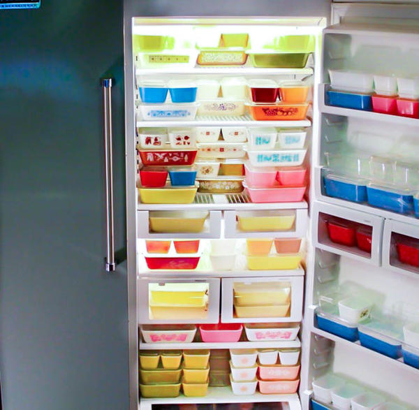 Pyrex has been passed down from generation to generation and has retained both its durability and bright colors.