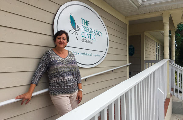 Andrea Krazeise, who runs a pregnancy resource center in Sanford, Fla., says that without Medicaid, many of her clients wouldn't see a doctor until the very end of the pregnancy.