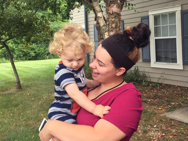 A pregnancy resource center helped Taylor Merendo apply for Medicaid in Bloomington, Ind. Now 21, she is caring for her 19-month-old son and training to become a nursing assistant.