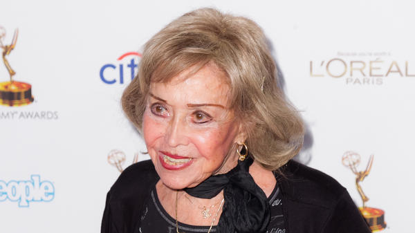 <em>Now Here's Something We Hope You'll Really Like</em>: An appreciation of the late June Foray, voice of Rocky the Flying Squirrel and many others, shown here arriving at an Oscars reception in 2013.