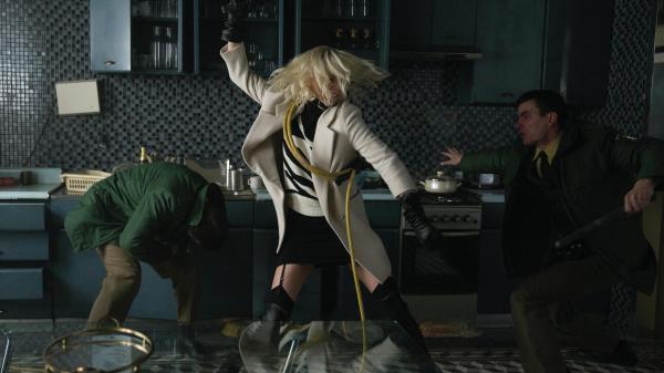Charlize Theron plays MI6 spy Lorraine Broughton in <em>Atomic Blonde</em>.