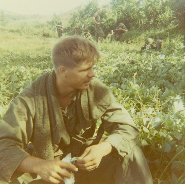 McCloughan in Vietnam, 1969. (Courtesy of James McCloughan)