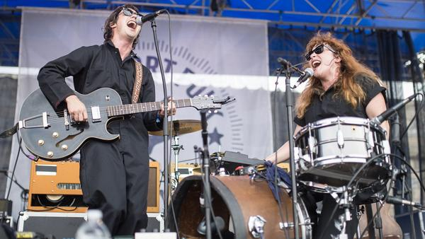 Shovels & Rope performs at the 2017 Newport Folk Festival.