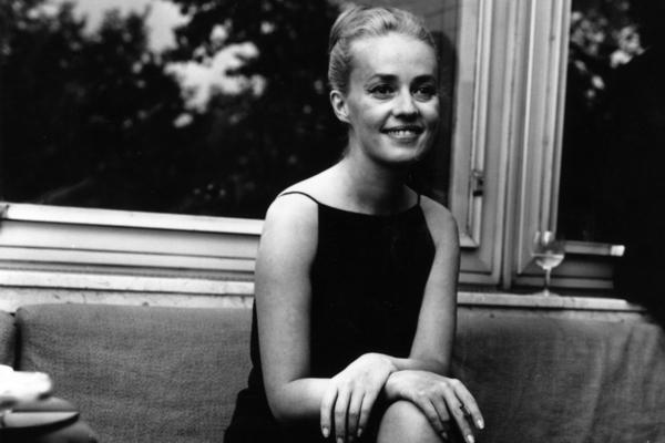 Jeanne Moreau appeared in three different films in 1962: Orson Welles' <em>The Trial</em>, Joseph Losey's <em>Eva</em> and Francois Truffaut's <em>Jules and Jim</em>.