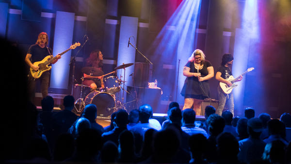 Sheer Mag perform live at World Cafe Live in Philadelphia for a WXPN Free At Noon Concert.