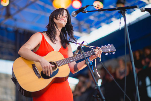 """Speak Out!"" with Sharon Van Etten."