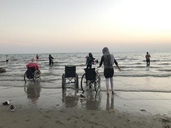 An April trip to Thailand brought a extra perk for the players: a visit the beach for the first time.