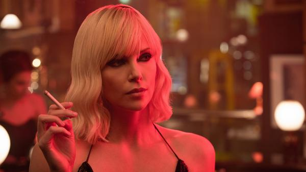 "Charlize Theron plays Agent Lorraine Broughton in <em>Atomic Blonde</em>, the tagline of which is not — repeat,  NOT — ""It Gets Broughton!"" because nobody thought to ask us."