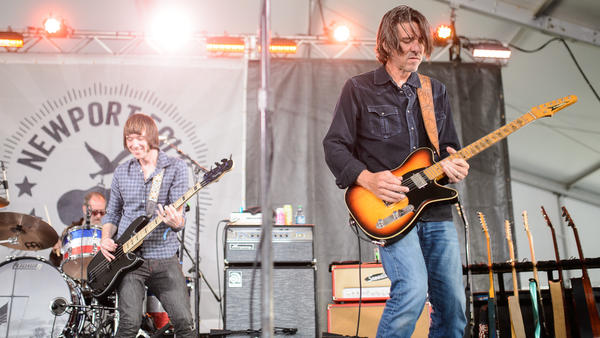 Drive-By Truckers perform at the 2017 Newport Folk Festival.