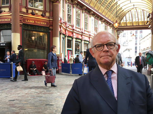 "David Buik, a market commentator with Panmure Gordon, supports Brexit. His peers, he says, ""want me taken away by two guys in a white coat. But I'll live with that."""