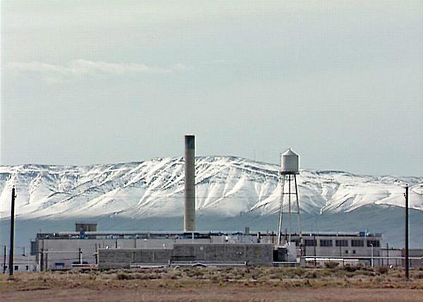 File photo of the Plutonium Finishing Plant at Hanford prior to demolition.