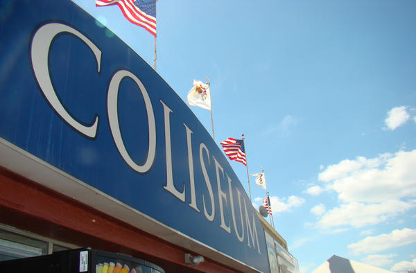 'Structural deficiencies' prompted the closure of the Coliseum on the Illinois State Fairgrounds.