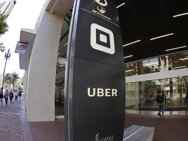 Uber leased cars it knew were unsafe to its drivers in Singapore, according to a report in <em>The Wall Street Journal</em>. Above, Uber's San Francisco headquarters in June.
