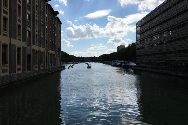 The Paris municipality opened the Canal De L'Ourcq to swimmers this summer. Municipal officials cleaned the canal to make it safe for swimmers. Canals are often repositories for trash; toilet bowls, suitcases, bikes and even a car were dumped into another Paris canal drained last year.