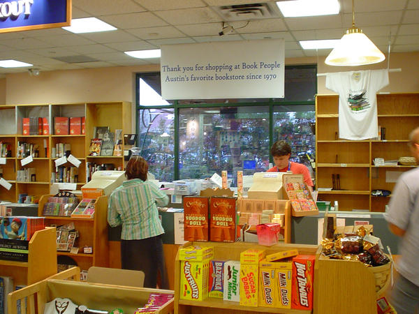 BookPeople in Austin.