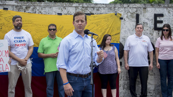 Florida Lieutenant Governor Carlos Lopez-Cantera spoke extensively on sanctions Florida will continue to have on Venezuela and on businesses benefiting from the regime
