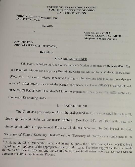 Copy of voter purge lawsuit