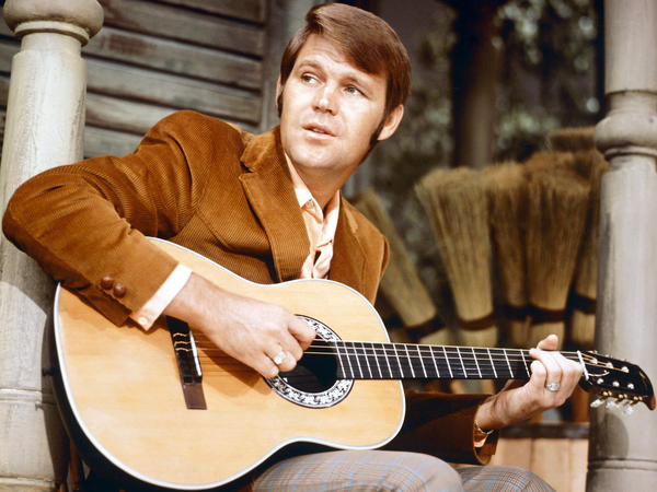 American country & western singer Glen Campbell, who passed away Aug. 8, 2017, pictured in 1967.