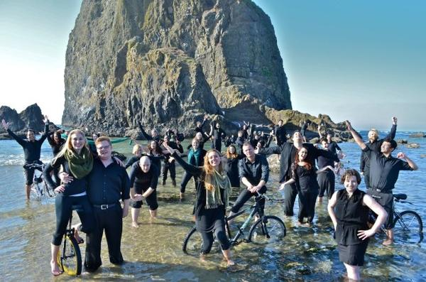 <p>With a pioneering approach to world music, the Portland State Chamber Choir regularly competes with top professional choirs in Europe for awards and accolades.</p>