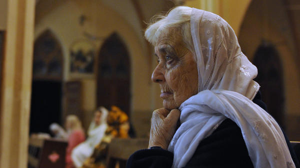 Ruth Pfau, seen here at St. Patrick's Cathedral in Karachi in 2010, led a charity fighting leprosy and blindness in the country for decades.