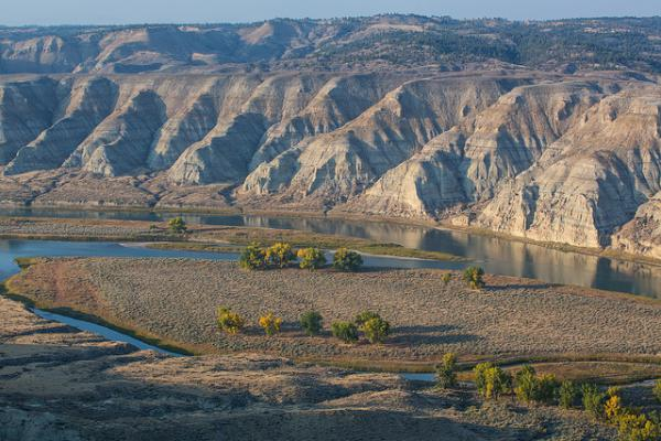 Upper Missouri River Breaks National Monument.