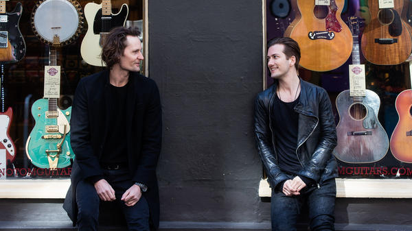 SoundCloud co-founders Eric Wahlforss, left, and Alex Ljung in 2016. The company closed a significant financing round on Aug. 11, 2017.