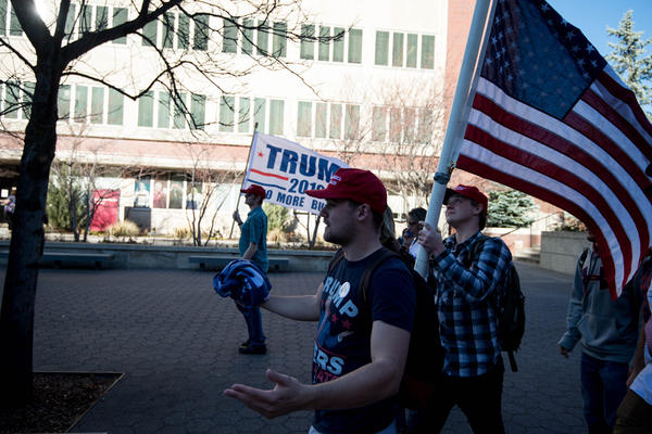 James Allsup of Bothell is president of Washington State University College Republicans. He attended, and was a planned speaker, at the rallies-turned-riots in Charlottesville this past weekend.