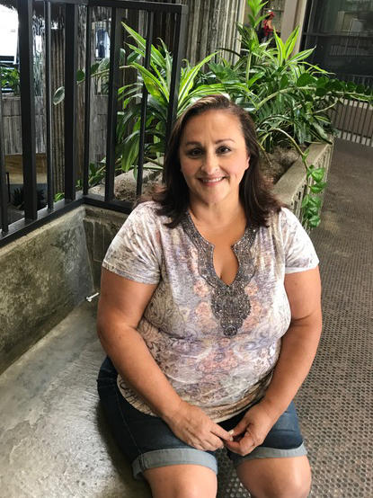 Irma Castaneda, 49, says the bright side of becoming eligible for Medicaid was her family now faces fewer out-of-pocket expenses for health care.