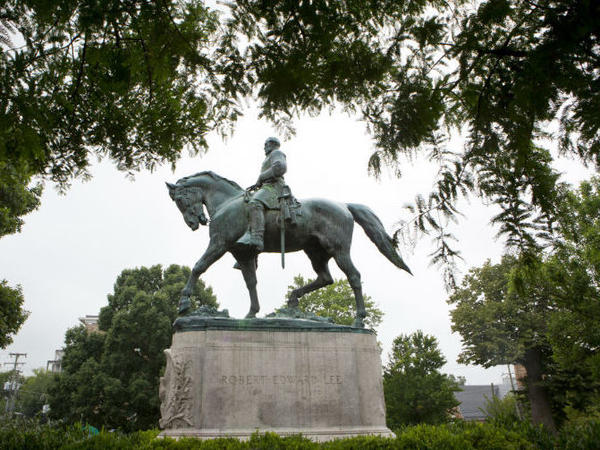 White supremacists descended on Charlottesville, Va., to protest the pending removal of the statue of Robert E. Lee in the city's Emancipation Park.
