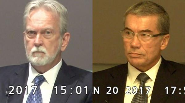 James Mitchell (left) and Bruce Jessen have settled a lawsuit brought by former detainees who were held in secret CIA prisons.